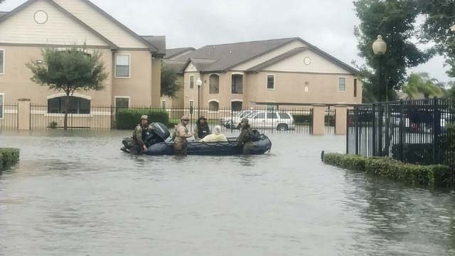flooding from hurricane