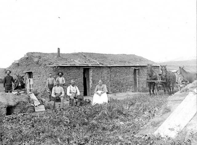 1800s root cellar photo
