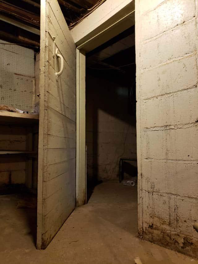 basement cold cellar photo