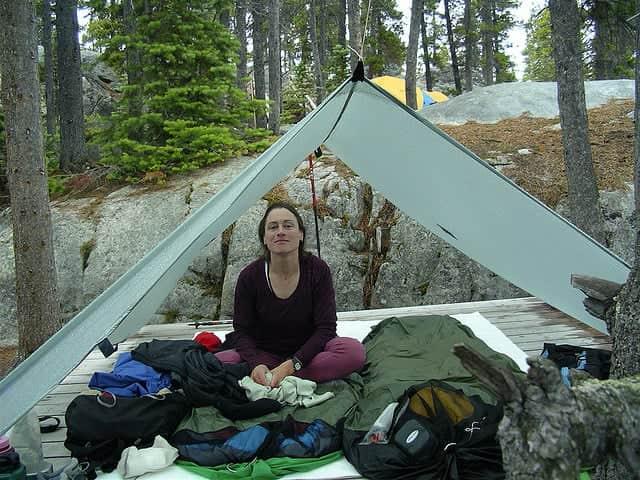 tarp tent design