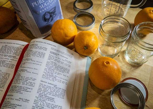 sugar and salt when canning food