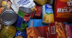 two week emergency food supply list