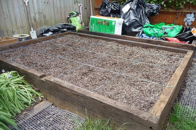 24 square foot garden