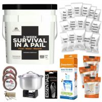 Emergency Essentials – 2 Week Survival in a Pail Giveaway