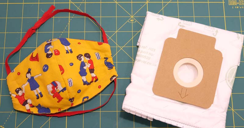 Homemade N95 Respirator Mask Instructions Using Hepa Vacuum Bag