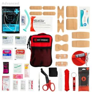 Solo first aid kit expanded