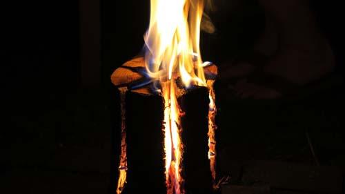 fire torch light