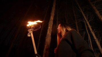 How To Make A Torch (In The Woods)
